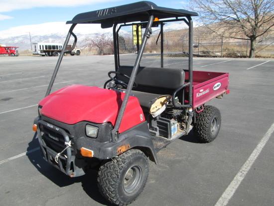 2007 KAWASAKI MULE 3000 2WD
