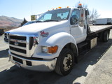 2005 FORD F650 TOW TRUCK