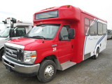 2013 FORD FOREST RIVER E450 SHUTTLE BS
