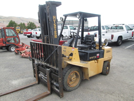 HYSTER H60XL FORKLIFT
