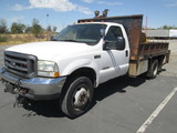2003 FORD F450 FLATBED