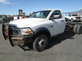 2012 DODGE 5500 CAB & CHAS