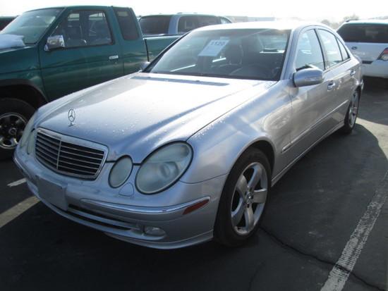 2003 MERCEDES E500