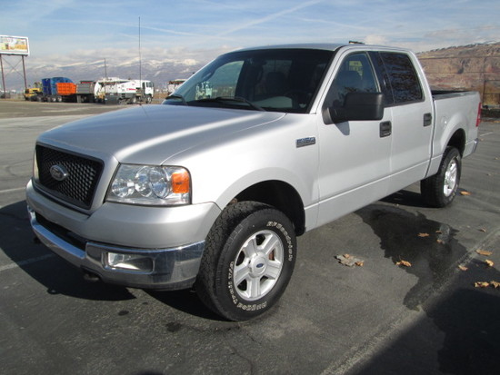 2004 FORD F150 4X4