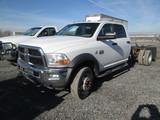 2011 DODGE 4500 CAB & CHAS