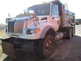 2007 INTL 7600 DUMP