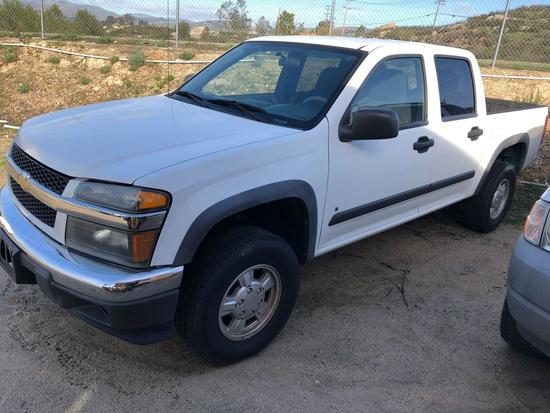 2008 CHEVROLET COLORADO 4X4 - DEALERS / DISMANTLERS ONLY!
