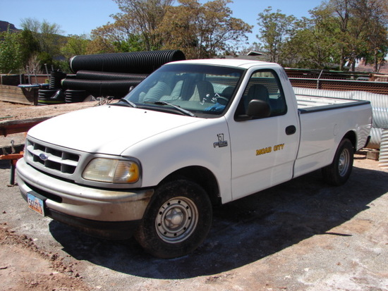 1998 FORD F150 2WD