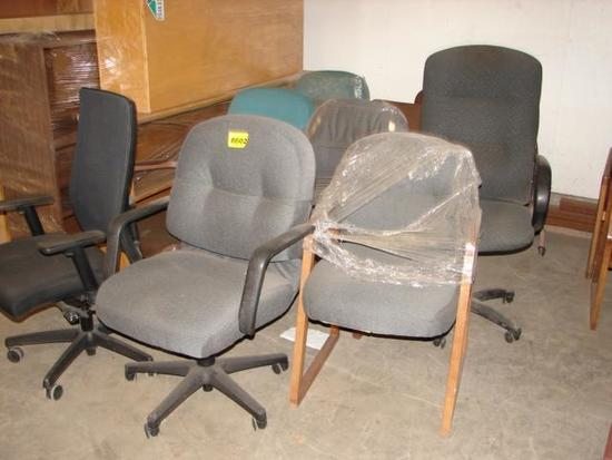 11 OFFICE CHAIRS