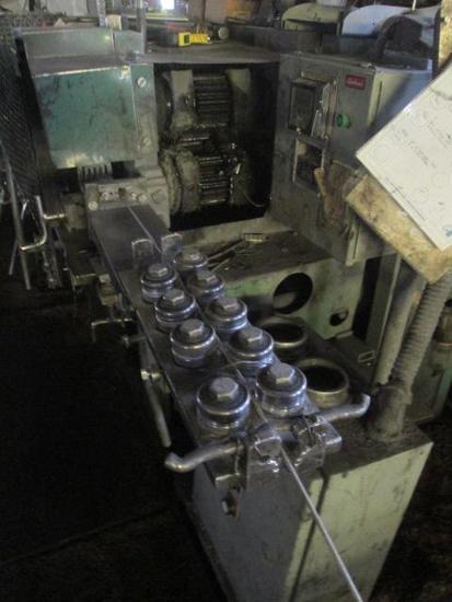 Austin Barnes CC01 Crimp and Cut Off Machine With 3 wire reels