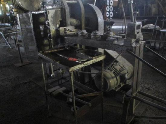 Jaeger crimp machine with approx (60) crimp wheels/various size and configurations Model-KMS-A With