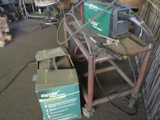 Victor, Plasma Cutter Model-Cutmaster 42 and Cart