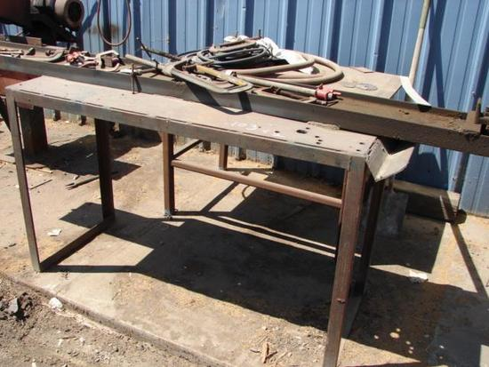 Hydraulic Cylinder Rebuild stand and table