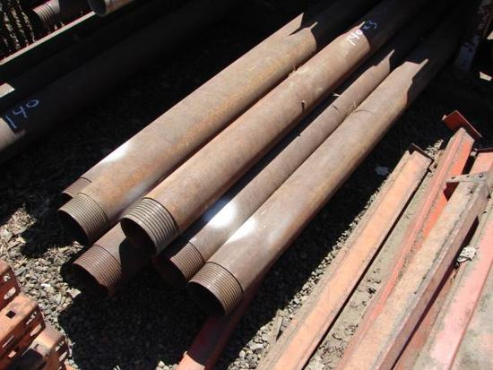 """5"""" O-dex Casing - 20 Foot (9) 10 Foot (7) and crossovers/pulling plugs"""