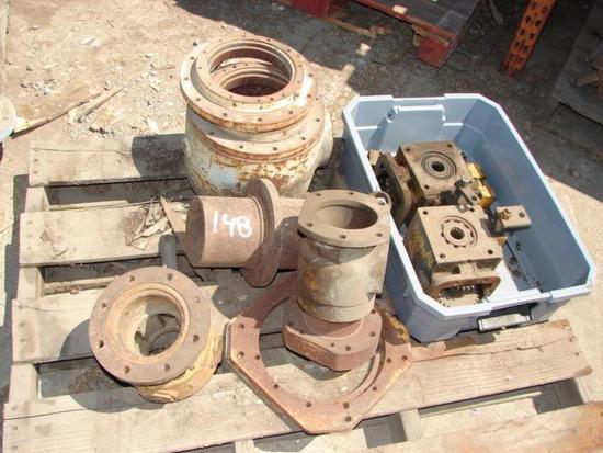 Mobil B53-80 Rotary Head Parts