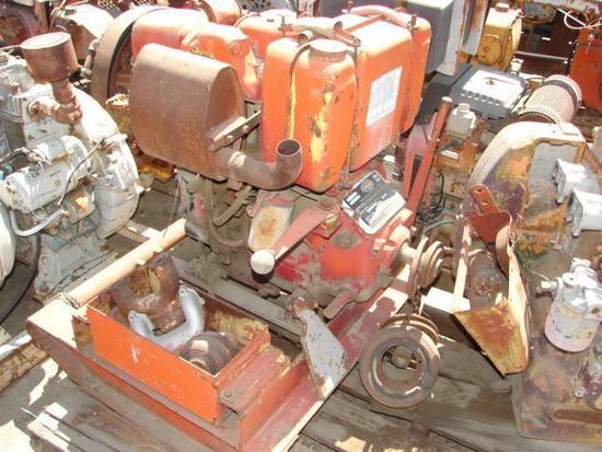 Lister Diesel 2 Cylinder Motor
