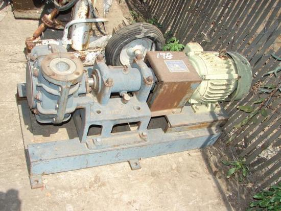 3x2 Centrifugal Pump with an Electric Motor