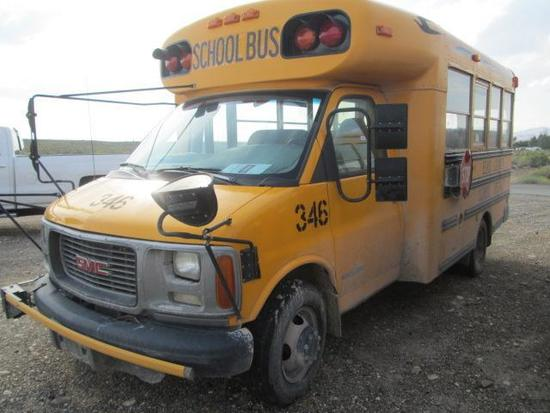 2000 GMC BLUEBIRD 3500 MINI BUS
