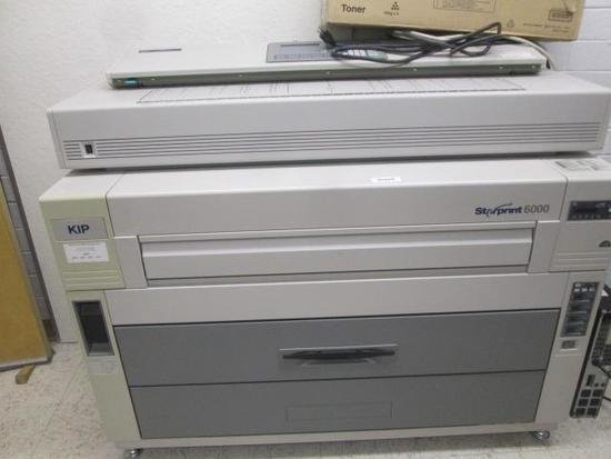 KIP STARPRINT 6000 WIDE FORMAT PLOTTER