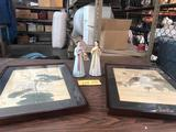 WALL HANGINGS AND STATUES