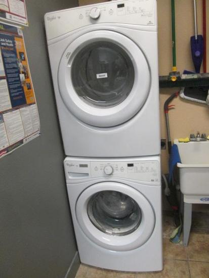 WHIRLPOOL DUET STACKING WASHER AND DRYER