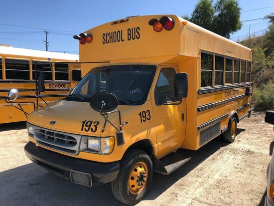 1999 FORD SCHOOL BUS