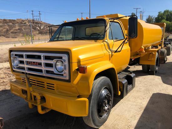 1989 GMC WATER TRUCK