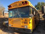 1999 BLUE BIRD SCHOOL BUS