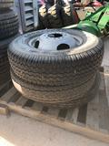 PALLET OF TIRES