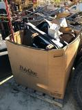 PALLET OF MISC TOOLS / SEAT /