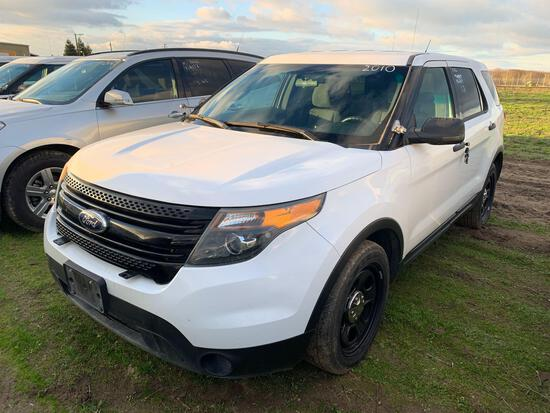 2014 FORD EXPLORER PI AWD