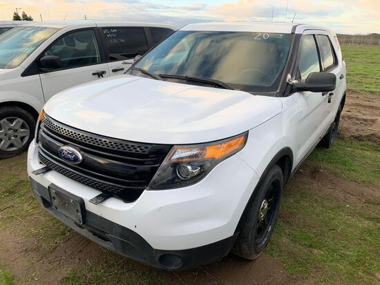 2015 FORD EXPLORER PI AWD