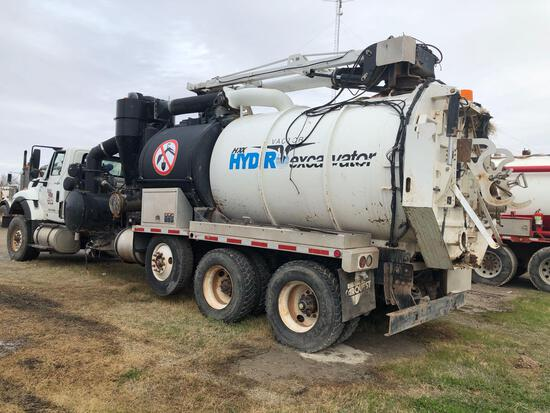 2011 INTERNATIONAL VACTOR HYDRO EXCAVATOR. DEALERS ONLY !!! WRECKED/PARTS