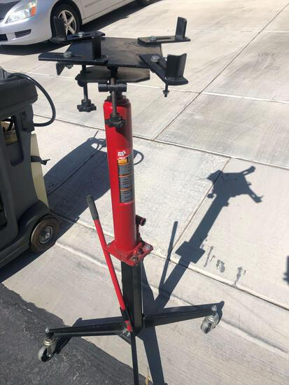 Big Red 1,000 lb. High Lift Trans Jack. And Stinger Underhoist Stand