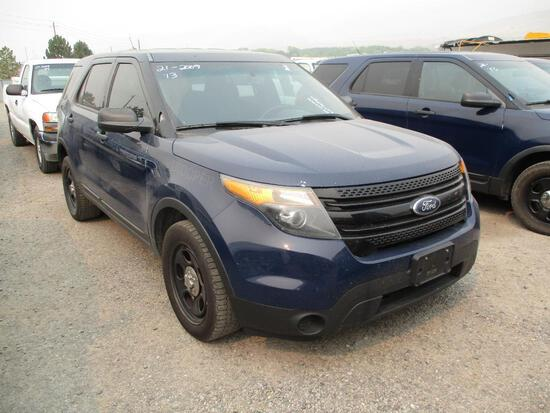 2013 FORD INTERCEPTOR SUV