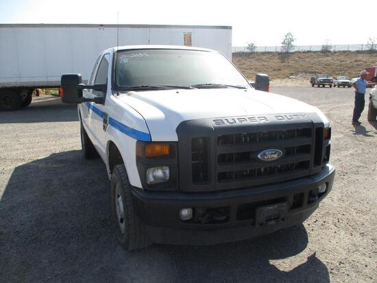 2008 FORD F-250 XL PICKUP