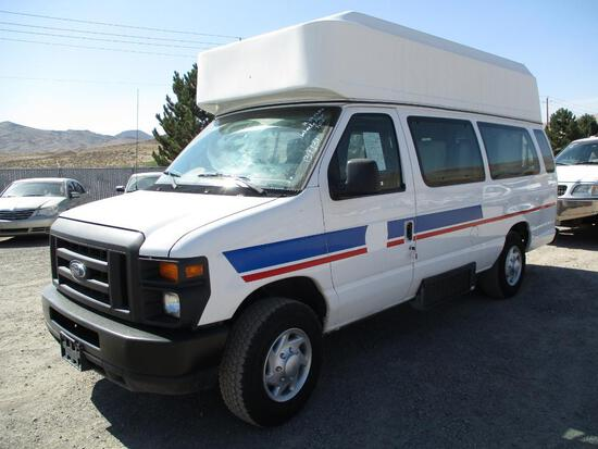 2012 FORD E-350 HIGH CUBE VAN