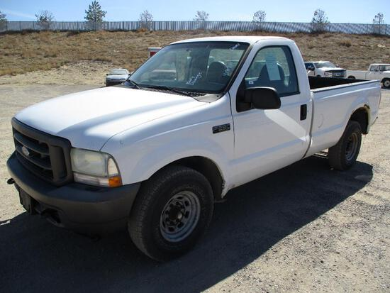 2004 FORD F-250 XL PICKUP