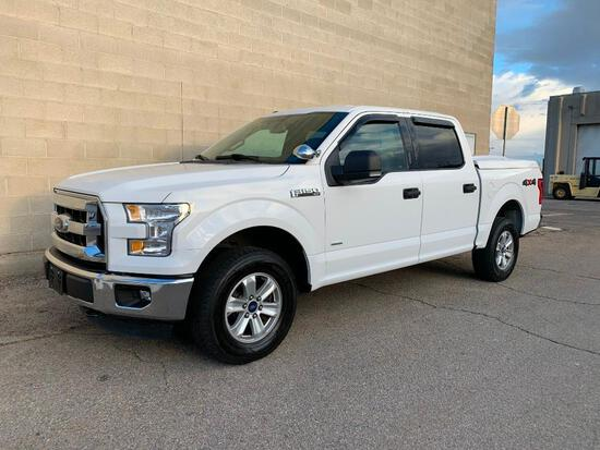 Year: 2015 Make: Ford Model: F-150 Vehicle Type: Pickup Truck Mileage:85789 A Body Type: 4 Door Cab;