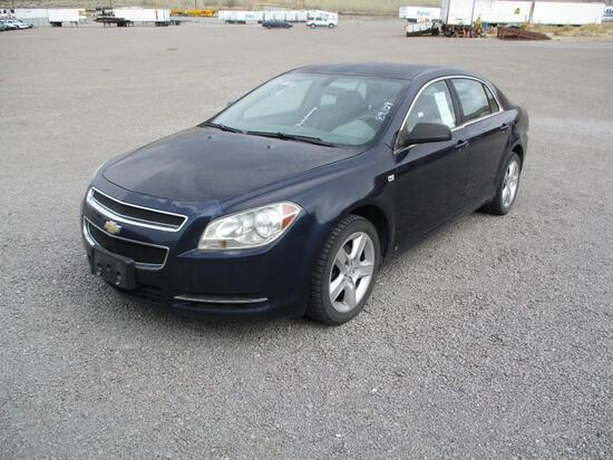 2008 MAKE CHEV MODEL MALIBU LS VIN 1G1ZG57N38F188743 DESCRIPTION BODY DAMAGE ABS MALFUNCTIONS