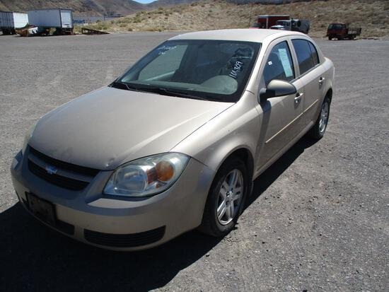 2006 MAKE CHEV MODEL COBALT LT VIN 1G1AL55F767785390 DESCRIPTION HOOD DAMAGE ODOMETER 101809