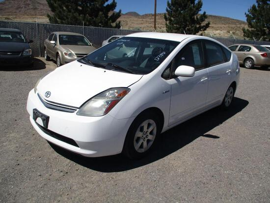2009 MAKE TOYOTA MODEL PRIUS VIN JTDKB20U297891494 DESCRIPTION DIRTY INTERIOR BATTERY? ODOMETER