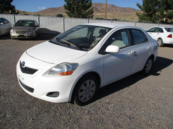 2009 MAKE TOYOTA MODEL YARIS VIN JTDBT903391335453 ODOMETER 123462 ODOMETER STATEMENT EX