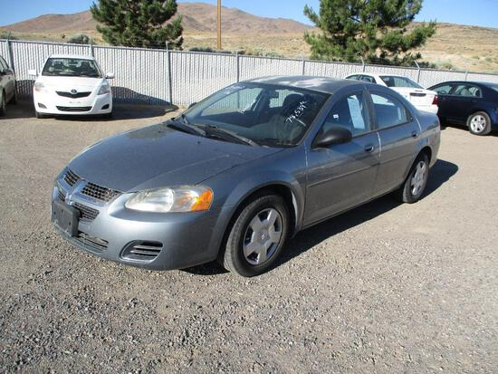 2006 MAKE DODGE MODEL STRATUS SXT VIN 1B3AL46TX6N268068 DESCRIPTION FADED PAINT ODOMETER 78539