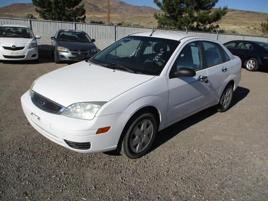 2006 MAKE FORD MODEL FOCUS SE ZX4 VIN 1FAFP34N36W232634 DESCRIPTION PAINT CHIPPED ODOMETER 89963