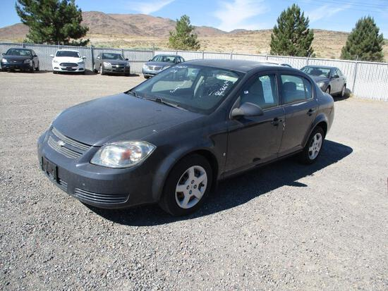 2008 MAKE CHEV MODEL COBALT LT VIN 1G1AL58F087285389 DESCRIPTION FADED PAINT ODOMETER 86867 ODOMETER