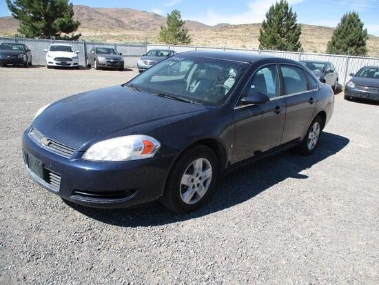 2008 MAKE CHEV MODEL IMPALA LS VIN 2G1WB55K489287557 ODOMETER 116859 ODOMETER STATEMENT EX