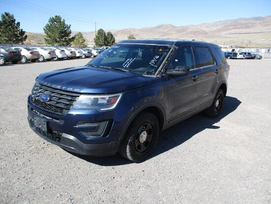 2016 MAKE FORD MODEL INTERCEPTOR SUV VIN 1FM5K8AT8GGB97276 DESCRIPTION NO CONSOLE EXHAUST LEAK