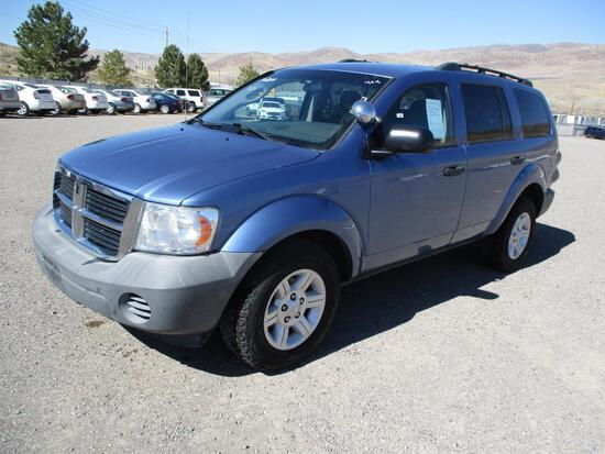 2007 MAKE DODGE MODEL DURANGO VIN 1D8HB38N67F539522 DESCRIPTION 4X4 ODOMETER 119232 ODOMETER