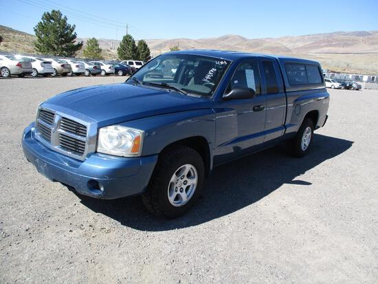 2006 MAKE DODGE MODEL DAKOTA VIN 1D7HW42K36S604104 DESCRIPTION 4X4 EXTENDED CAB ODOMETER 144478